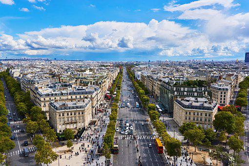 Paris, France, Champs-elysee, Places Of Interest