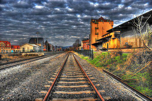 Seemed, Gleise, Railway, Railroad Tracks, Railway Rails