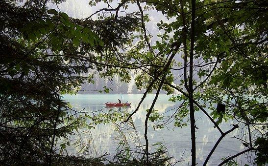 Browse, Barca, River, Fisherman, Canoe, Water, Laguna