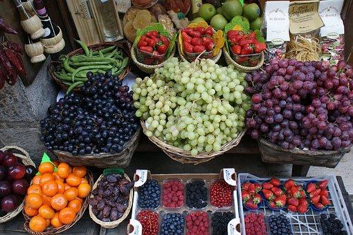 Fruit, Siena, Italia, Tourism, Gastronomy, Tuscan, Trip