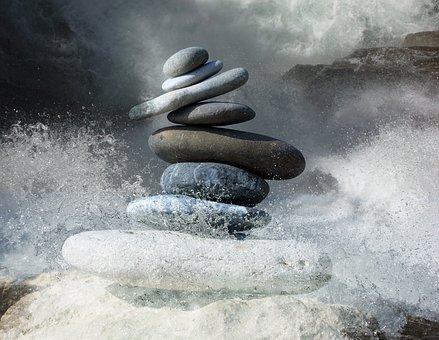 Zen Stones, Stones, Zen, Balance, Rocks, Pebbles
