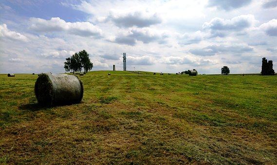 Field, Clouds, Nature, Summer, Landscape, Sky, Rural