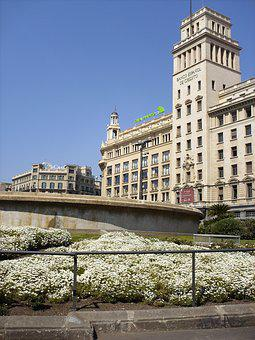 Plaza Catalunya, Barcelona, Spain, Tourism, Trip