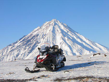 Volcano, Sands, Toxins, The Foot, Snowmobile, Mountains