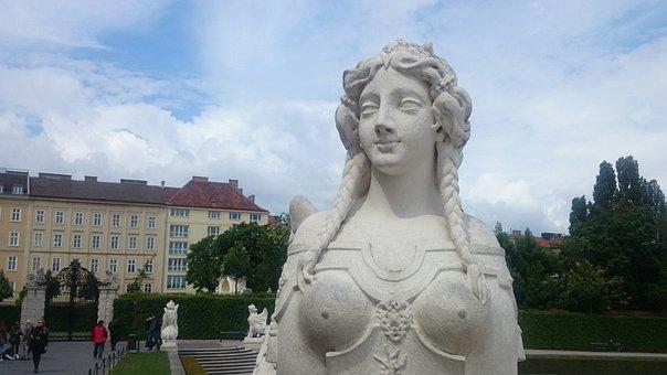 Vienna, The Palace, Jasper, Sculpture, Architecture