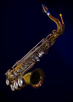 Saxophone, 3d, Graphics, Music