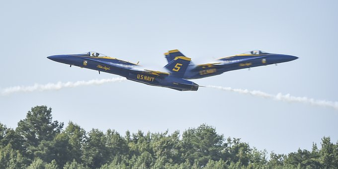 Blue Angels, Flight, Demo Team, Flight Demonstration