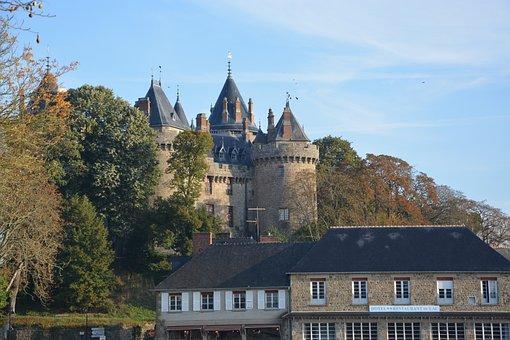 Castle, Castle Combourg, Tourist Town, Heritage