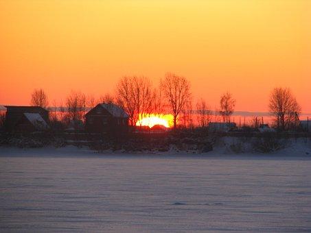 Morning, Sunrise, Dawn, Rays, Sky, Early Morning