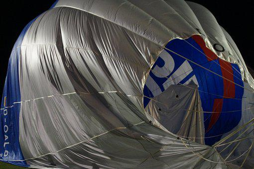 Balloon, Hot Air Balloon, Removal, Remove, End