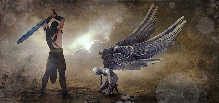 Fantasy, Angel, Hangman, Mystical, Figure, Atmosphere