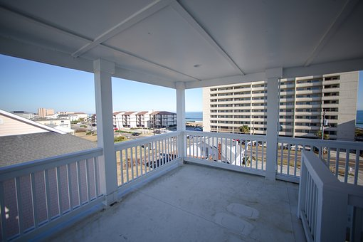 Balcony, Beach, Caro, Ocean, Relax, Terrace, Lifestyle