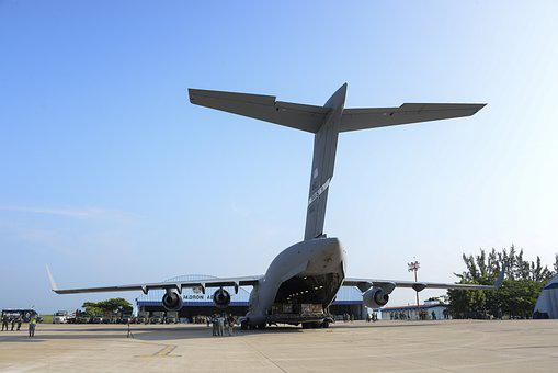 C-17 Globemaster Iii, Cargo, Plane, Aviation, Load