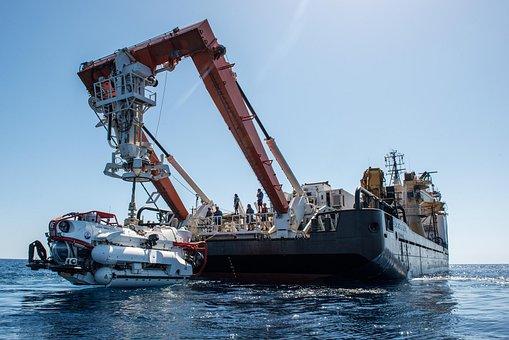 Rescue Vehicle, Srv, Submarine, Water, Sea, Rescue