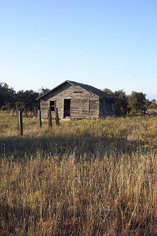 Old Shed, Route 66, Texas, Fall