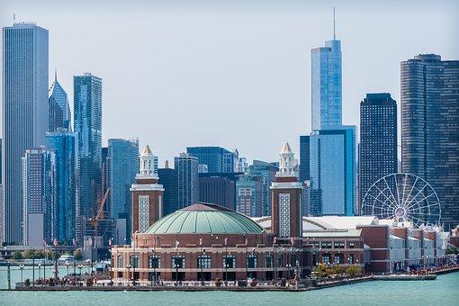 Chicago, City, Skyline
