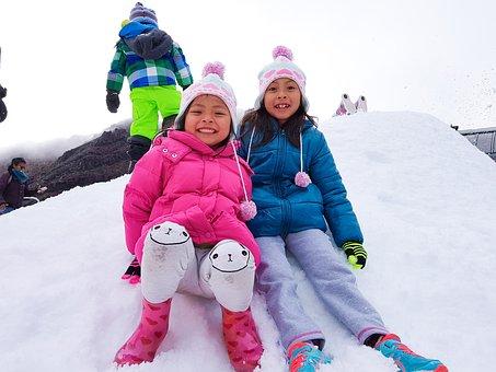 New Zealand, Snow, Kids