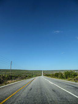 Road, Just, Freedom, Road Trip, South Africa, Asphalt