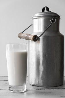 Milk, Food, Nutrition, Drink, Glass, Strengthening, Eat