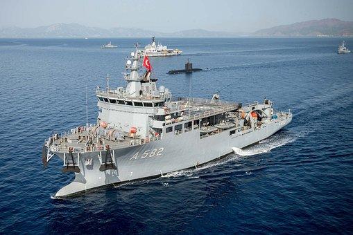 Rescue Ship, Submarine Rescue, Ship, Vessel