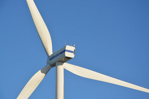 Wind Turbine, Machine, Convert The Energy Of The Wind
