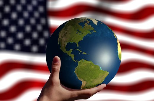 America, Globe, Power, World Power, Responsibility