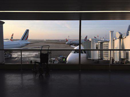 Aircraft, Airport, Travel, Boarding, Post-apocalypse