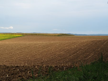 Landscape, Hilly, Arable, Agriculture, Hill, Outlook