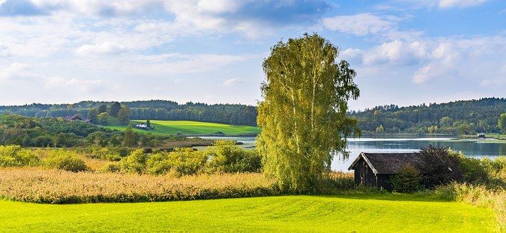 Bavaria, Agricultural, Hut, Log Cabin, Agriculture