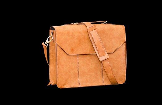 Leather Case, Bag, Briefcase, Handbag, Leather