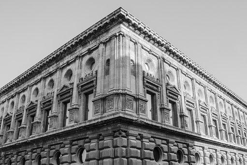 Building, Architecture, Spain, Symmetry