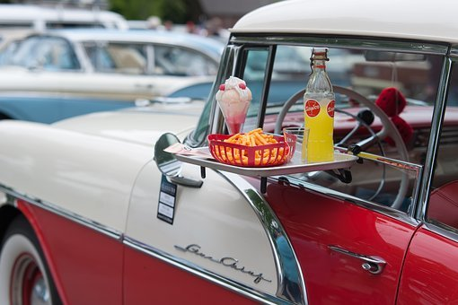 Auto, Buik, Oldtimer, Classic, Closeup, Detail