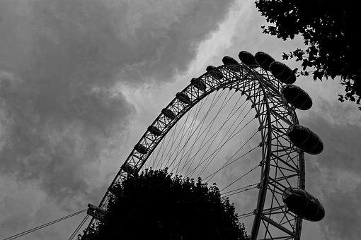 London Eye, London, Ferris Wheel, England, Attraction