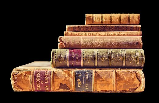Books, Read, Literature, Pitched, Old Books, Book Stack