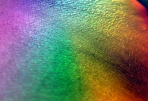 Rainbow, Colors, Purple, Green, Red, Yellow, Style