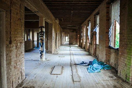 St Crispins, Asylum, Hospital, Derelict, Run-down