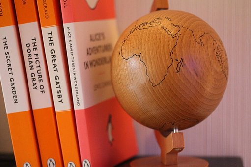 Globe, Travel, Book