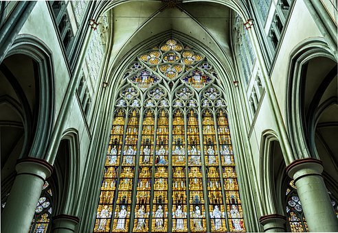 Dom, Church, Cathedral, Window, Germany