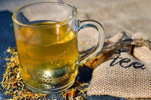 Tee, Glass, Tea Infuser, Tea Mix, Benefit From, Teatime