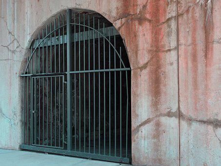 Wrought, Iron, Gate, Entry Gate, Medieval, Fortress
