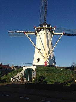 Windmill, Holland, Dutch, Netherlands, Traditional