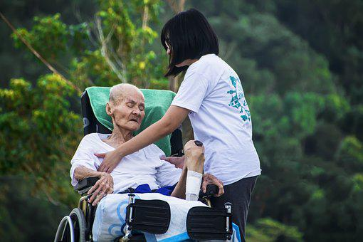 Hospice, Caring, Nursing, Care, Old, Elderly, Patient