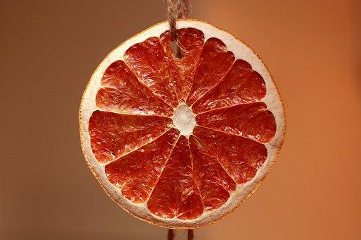 Orange, Slice, Dried Fruits, Oranges, Cross Section