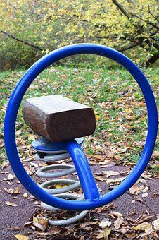 See Saw, Game Device, Playground, Children, Play