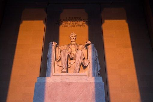 Lincoln Memorial, Washington D, Abraham Lincoln