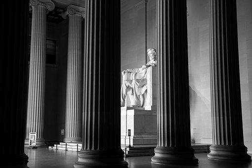 Lincoln Memorial, Washington Dc, Abraham Lincoln