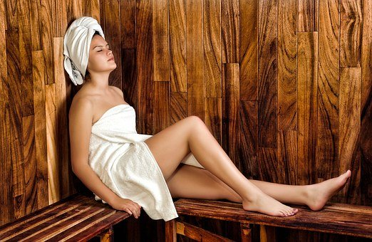 Woman, Sauna, Spa, Wellness, Beauty, Young Woman