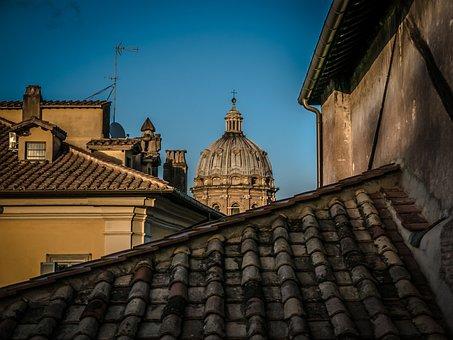 Cupola, Sky, Blue, Dome, Architecture, Church, Building
