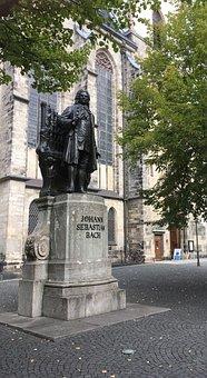 Bach Monument, Leipzig, Bach, Music