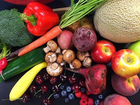Blueberry, Bell Pepper, Healthy, Food, Bell, Fruit